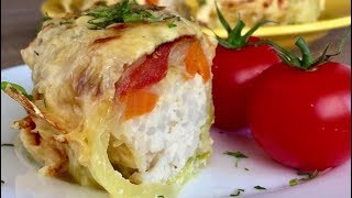 Homemade recipe - Baked Zucchini with Cheese and Chicken Mince. For prepare Zucchini with Cheese and Chicken Mince we...