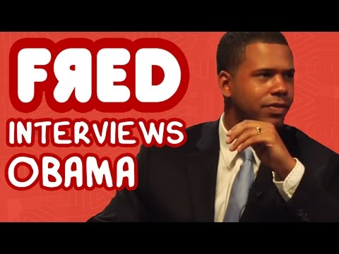FRED Interviews OBAMA