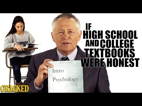 If College Textbooks Were Honest