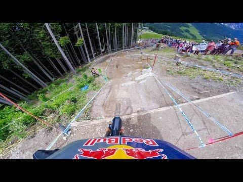 GoPro: Rachel Atherton's Record-Breaking Victory - UCI Mountain Bike World Cup 2016 (видео)