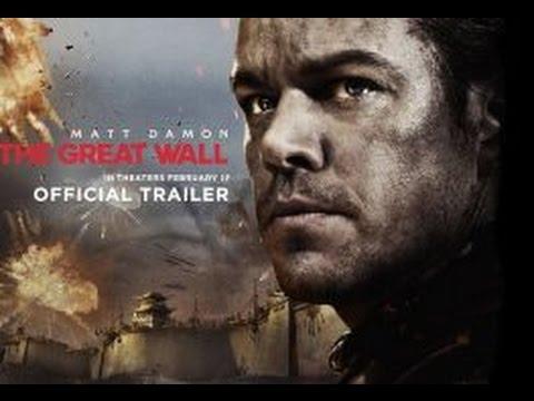 The Great Wall Reveal Trailer 1 2017   Matt Damon Movie