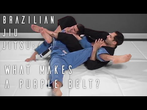 Video of BJJ Purple Belt Requirements