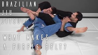 BJJ Purple Belt Requirements YouTube video