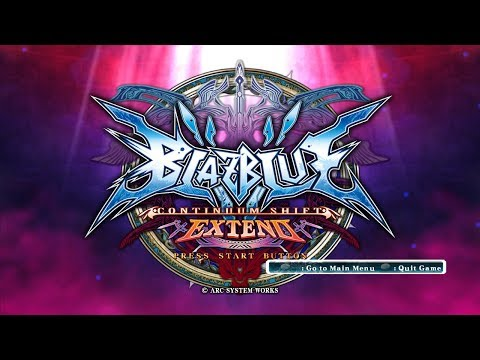 BlazBlue Continuum Shift Extend: Full Movie