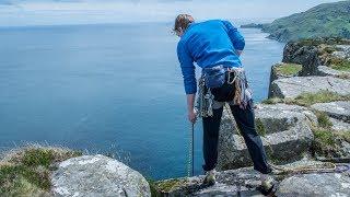 Huge 100m Trad Climbing At Fair Head - Vlog 57 by Matt Groom
