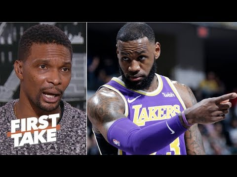 Video: 'We're in uncharted territories' if LeBron James misses playoffs - Chris Bosh | First Take