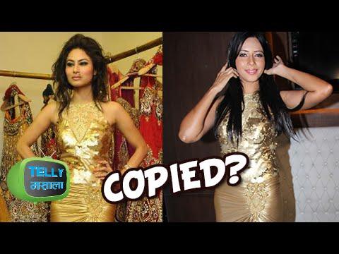 Fashion DISASTER: Mouni Roy Copies Rozlyn Khan?!