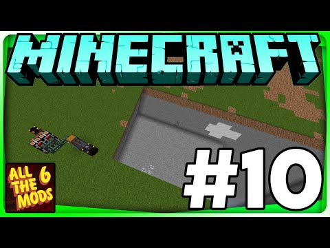 Fully Auto Quarry Time! All The Mods 6 Lets Play Series Episode #10