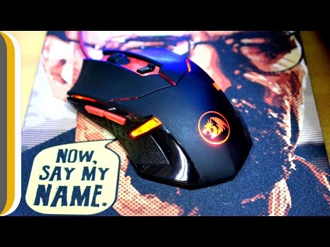 Redragon M601 CENTROPHORUS-2000 DPI Gaming Mouse UNBOXING & REVIEW