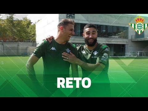 ¡RETO de puntería con JOAQUÍN y FEKIR!  CHALLENGE  Real Betis Balompié