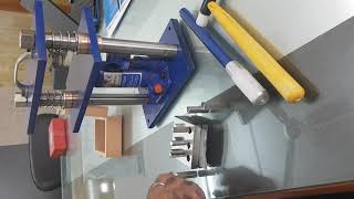 Hydraulic Press For Disc Cutters youtube video