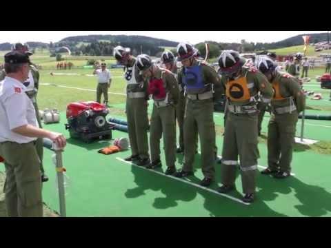 Siegerlauf St Martin im Mühlkreis bei Landes Feuerwehrleistungsbewerb in Hirschbach 2015