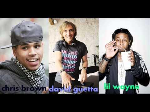 David Guetta Feat. Chris Brown & Lil Wayne - I Can Only Imagine With Lyrics