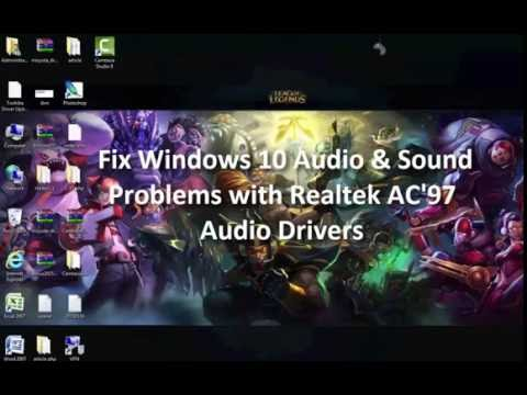 ac97 audio windows xp driver