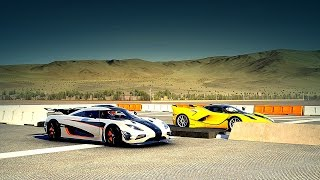 Nonton Ferrari FXX K vs Koenigsegg ONE:1 Drag Race | Forza 6 Film Subtitle Indonesia Streaming Movie Download
