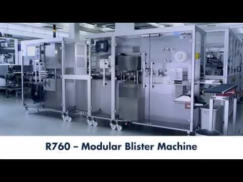 Semi Automatic Development Blister Machine R760