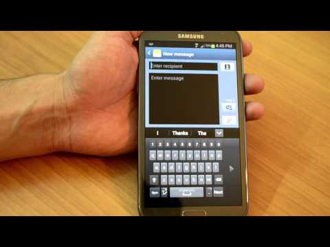 Samsung Galaxy Note II (N7100) full review video