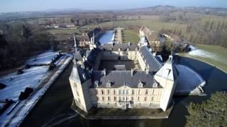 Vues aériennes du Chateau de Sully