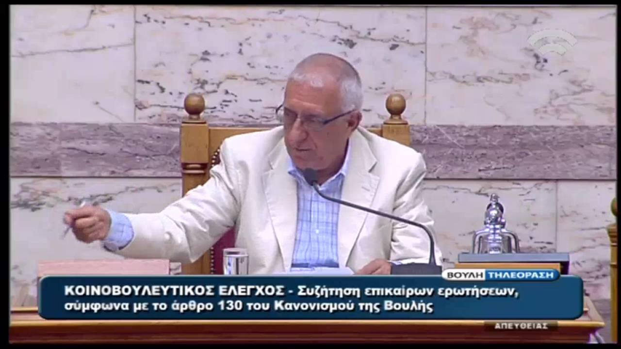 Γ. Χουλιαράκης: Πρέπει να υπάρξουν ισοδύναμες δημοσιονομικές παρεμβάσεις