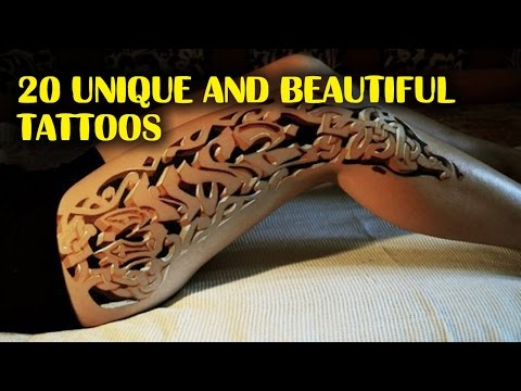 20 Unique and Beautiful Tattoos to inspire your own body art