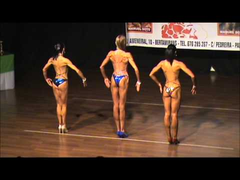 Bodyfitness en la semifinal del Campeonato del norte de España IFBB 2013