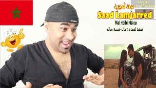 INDIAN REACTS TO MOROCCON(ARABIC)  MV| SAAD LAMJARRED - Mal Hbibi Malou   سعد لمجرد   مال حبيبي مال