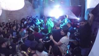 15 de Julio del 2017, Basement en vivo en Costa Rica.