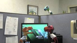 Dinosaurs at the Office 2: Karaoke