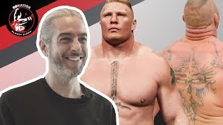 Video Tattoo Artists React To Brock Lesnar's Tattoos MP3, 3GP, MP4, WEBM, AVI, FLV Mei 2018