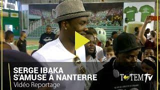 Nanterre France  city images : Quand Serge Ibaka s'amuse avec les jeunes basketteurs de Nanterre (France)