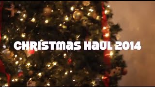 CHRISTMAS HAUL 2014❄☃ | BeautyPolice101