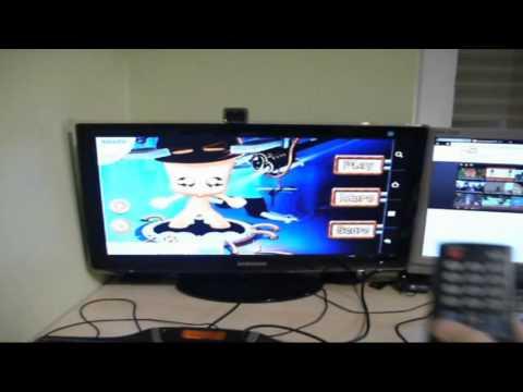 Archos Tablet über HDMI an Fernseher anschließen