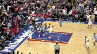 Back in Philly-Iverson's First Game vs Nuggets (December 7, 2009)
