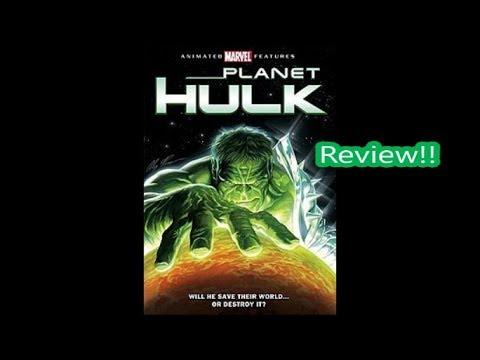 Planet Hulk (2010) Animated Movie Review