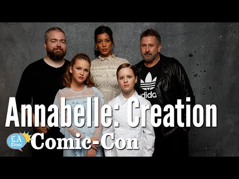 """""""Annabelle: Creation"""" Cast Says They Blessed The Set: Comic-Con   Los Angeles Times"""