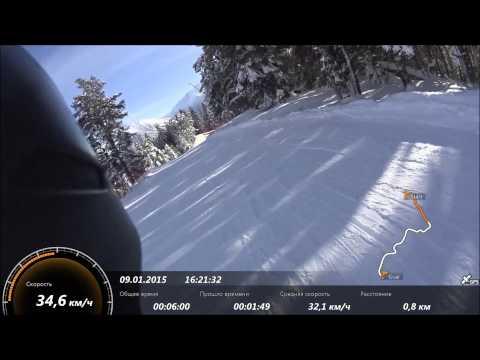 Новый горнолыжный курорт России