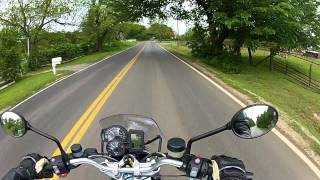 8. 2012 BMW R1200R Test Ride