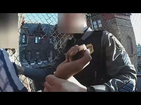 VIDEO: Police rescue 13-year-old boy from suicide attempt in Newark