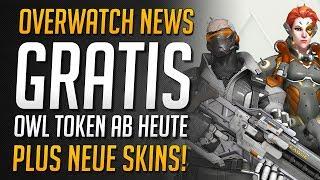 GRATIS LEAGUE TOKEN AB HEUTE VERDIENEN! | OWL Away Skins verdienen und mehr • Overwatch Deutsch