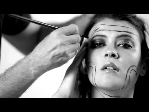 body painting. The Making Of The Viking Warrior (видео)