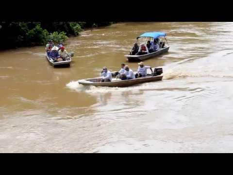 01- Canoagem Ecológica em Rio dos Bois - Mairipotaba, Go (02 de abril 2004)