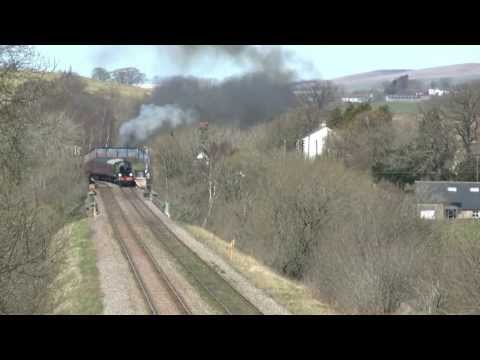 mayflower - 61306 Mayflower on A Loaded Test Run (Carnforth - Settle Jtn - Hellifield - Blackburn - Preston - Carnforth) on Thursday 2nd May 2013. Mayflower came out for...