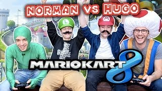 Video Norman VS Hugo sur Mario Kart 8 ! MP3, 3GP, MP4, WEBM, AVI, FLV November 2017