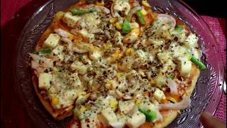 no yeast no oven pan pizza in Kannada/tawa pizza in Kannada/pizza without microwave in Kannada my channel is all about ...