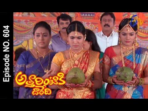 Attarintiki Daredi |13th October 2016 | Full Episode No 604 |ETV Telugu