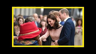 Video Breaking News | The duchess of cambridge joined the duke of cambridge and prince harry at paddingto MP3, 3GP, MP4, WEBM, AVI, FLV Oktober 2017