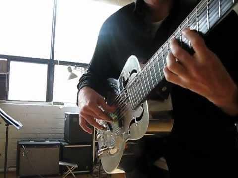 Jason Crawford 8-string Resonator Guitar Blues