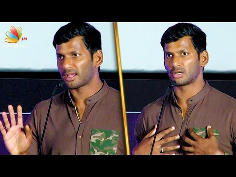 I was in debt in real life too : Vishal Speech | Irumbu Thirai Audio Launch | Samantha Movie
