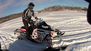 9. 2012 Polaris Switchback 800 assault