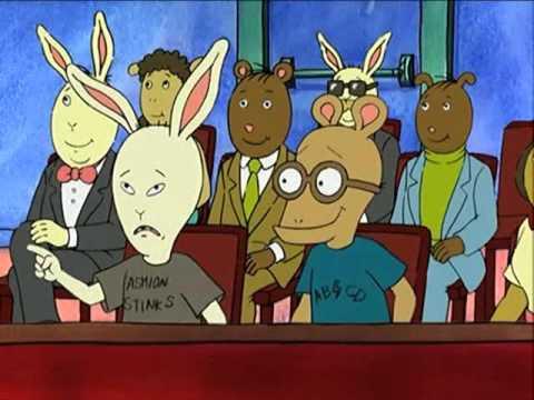 Arthur makes fun of Beavis and Butthead